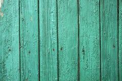 Recinto di legno della pittura della sbucciatura Fotografie Stock Libere da Diritti