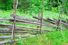 Recinto di legno rurale finlandese tradizionale Immagini Stock Libere da Diritti
