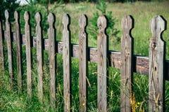 Recinto di Woden fatto del legno di quercia Immagine Stock Libera da Diritti