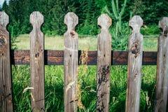 Recinto di Woden fatto del legno di quercia Fotografia Stock Libera da Diritti