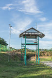 Recinto e torre Fotografia Stock Libera da Diritti