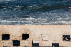Recinto e un oceano Fotografia Stock Libera da Diritti
