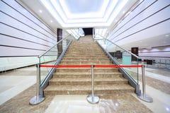 Recinto en la escalera de mármol Foto de archivo libre de regalías
