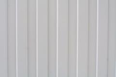 Recinto grigio a strisce del metallo Fotografia Stock