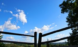 Recinto Natchez Trace Parkway fotografie stock libere da diritti