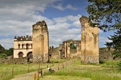 Recinto real de Gondar Imagenes de archivo