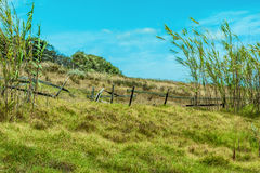 Recinto rotto dell'azienda agricola Fotografia Stock Libera da Diritti