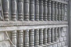 Recinto strutturato della grata del cemento Immagine Stock Libera da Diritti