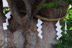 Recintos de la capilla sintoísta Foto de archivo libre de regalías