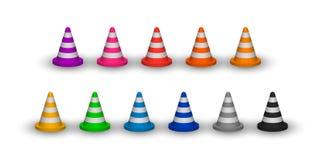 Recinzione del cono royalty illustrazione gratis
