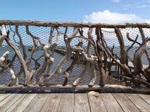 Recinzione del legname galleggiante Immagini Stock