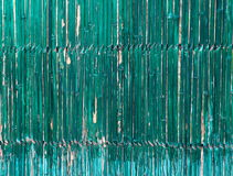 Recinzione di bambù Fotografie Stock