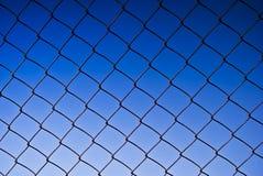 Recinzione di collegamento Chain Immagini Stock Libere da Diritti