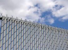 Recinzione di collegamento Chain Fotografia Stock Libera da Diritti
