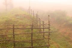 recinzione migliorata da pioggia Fotografie Stock