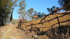 Recinzione rurale - 5 Fotografie Stock