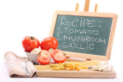 Recipe Royalty Free Stock Images