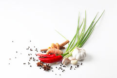Recipe. A few ingredient for culinary Royalty Free Stock Photo