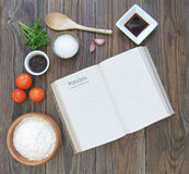 Recipe book Stock Photography