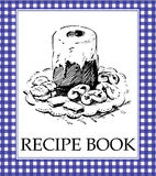 Recipe Book. Cover - a gift for someone you care Royalty Free Stock Photography