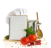 Recipe book Royalty Free Stock Images