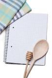 Recipe book Stock Images