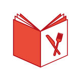 Recipe book isolated icon. Vector illustration design Stock Photos