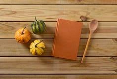 Recipe book on the table Stock Photos