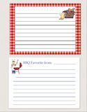 Recipe Cards Stock Images