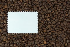 Recipe for coffee Stock Photography