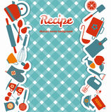 Recipe illustration. Stock Images