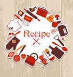 Recipe illustration. Stock Photos