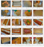 Recipe of Pork pie. A pork pie is a traditional British cold meat pie. It consists of roughly chopped pork and pork jelly sealed in a hot water crust pastry. It Royalty Free Stock Photography