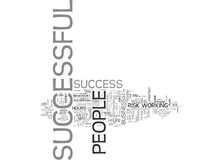 A Recipe For Success Word Cloud. A RECIPE FOR SUCCESS TEXT WORD CLOUD CONCEPT Royalty Free Stock Photos
