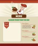 Recipe template Stock Photos