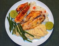 Recipe of tilapia fish Royalty Free Stock Photos
