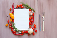 Recipes. Stock Photos