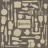 Recipes Illustration Stock Photography