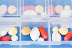 Recipiente com drogas Fotografia de Stock