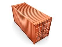 Recipiente de carga Imagem de Stock