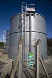 Recipiente del gas de petróleo líquido fotografía de archivo libre de regalías