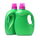 Recipiente detergente plástico foto de stock