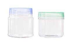 Recipiente di plastica trasparente immagine stock libera da diritti