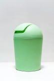 Recipiente di plastica verde Immagini Stock Libere da Diritti
