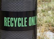 Recipiente di riciclaggio Fotografia Stock