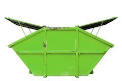 Recipiente di rifiuti industriali & x28; dumpster& x29; per rifiuti urbani o il industria immagini stock