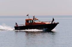 Recipiente marítimo búlgaro de la administración Foto de archivo libre de regalías