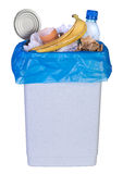 Recipiente in pieno di rifiuti Fotografia Stock Libera da Diritti