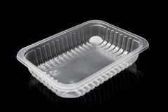 Recipiente plástico fotografia de stock