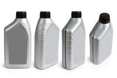 Recipiente plástico no fundo branco Foto de Stock Royalty Free